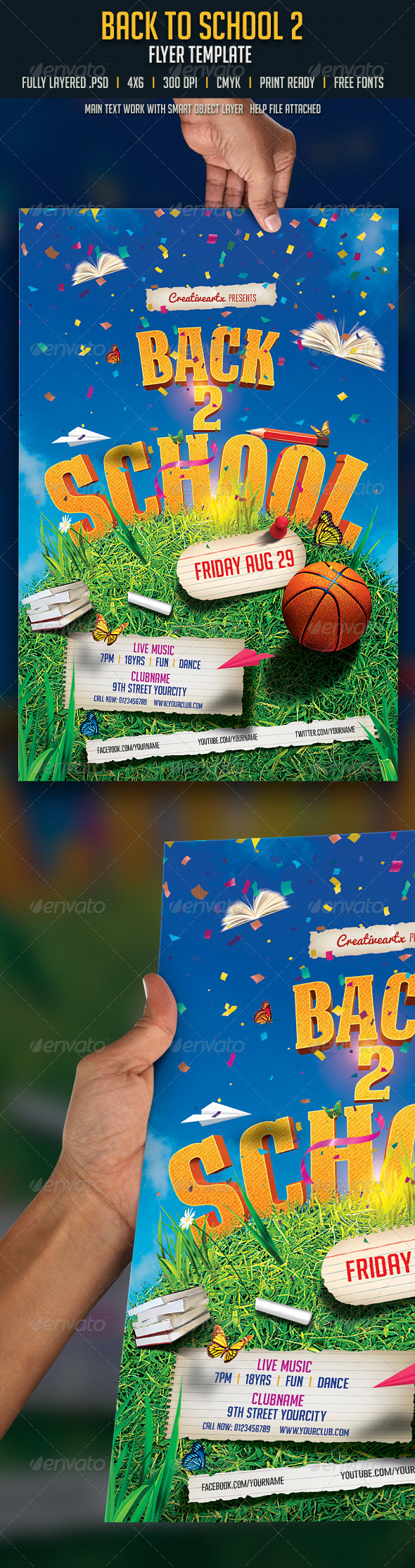 GraphicRiver Back to School 2 8426916