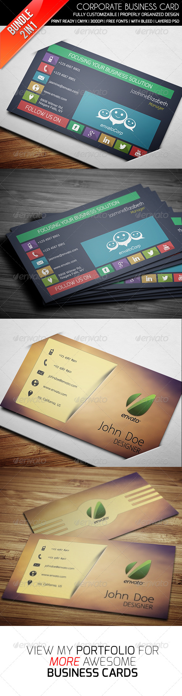 GraphicRiver Ethanfx Business Card Bundle Vol 5 8426992