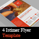 4 Istimer Flyer Template - GraphicRiver Item for Sale