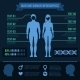 Set of Man and Woman Infographic Elements - GraphicRiver Item for Sale