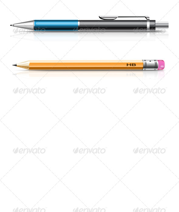 GraphicRiver Pen and Pencil 8427656