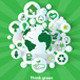 Go Green Vector Background  - GraphicRiver Item for Sale