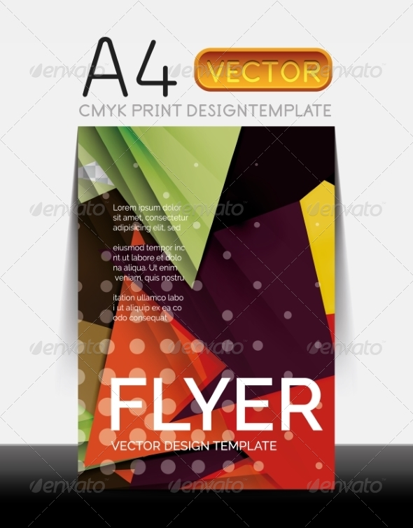 GraphicRiver Vector Modern Flyer Design 8427869
