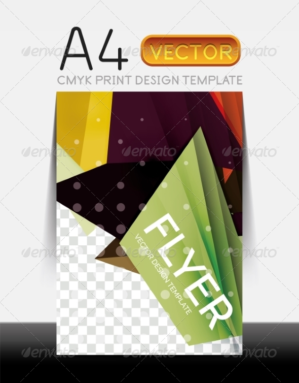 GraphicRiver Vector Modern Flyer Design 8427871