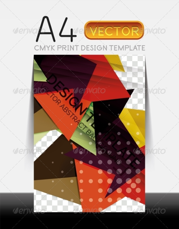 GraphicRiver Vector Modern Flyer Design 8427872