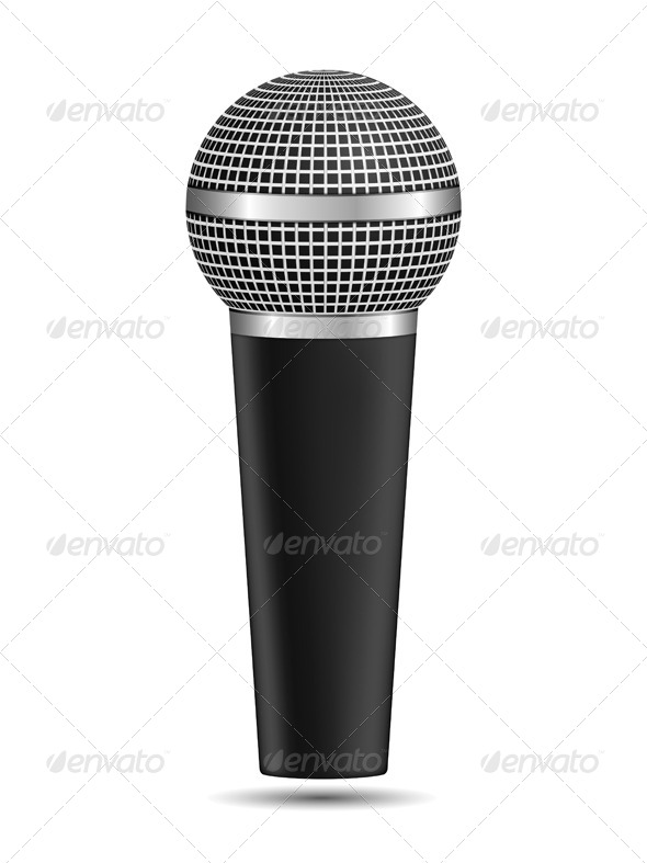 GraphicRiver Microphone 8427904