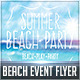 Summer Beach Event Flyer Vol.01 - GraphicRiver Item for Sale