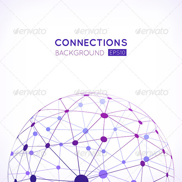 GraphicRiver Abstract Network Background 8428093