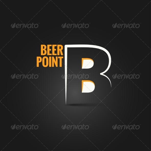 GraphicRiver Beer Point Design Background 8428390