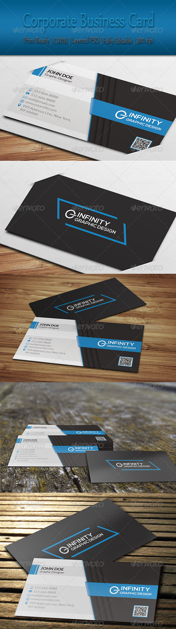GraphicRiver Corporate Business Card 8428571