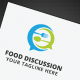 Food Discussion Logo - GraphicRiver Item for Sale