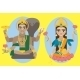 Lord Vishnu and Mata Lakshmi - GraphicRiver Item for Sale