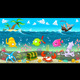 Funny Scene under the Sea. - GraphicRiver Item for Sale
