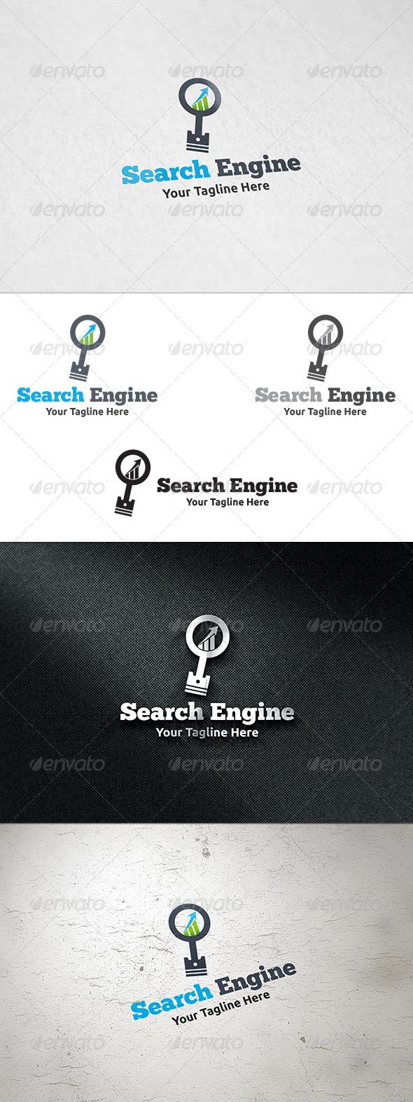 GraphicRiver Search Engine Logo Template 8429112
