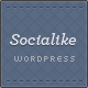 Socialike Responsive WordPress Blog & Social Pages