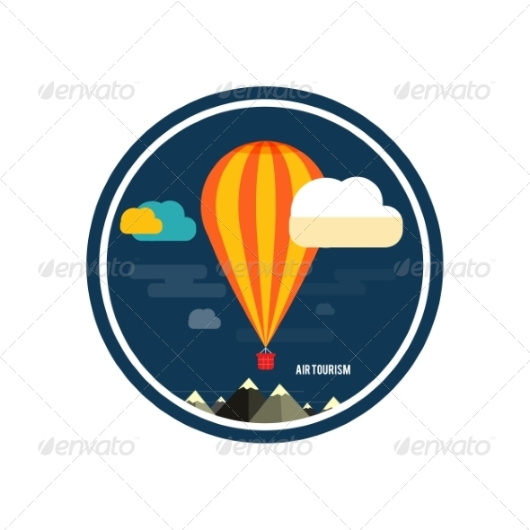 GraphicRiver Hot Air Balloon 8429401
