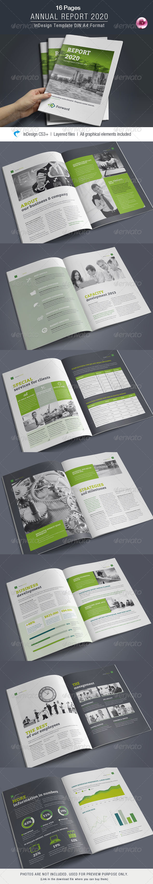 GraphicRiver Annual Report 16 Pages 8429403