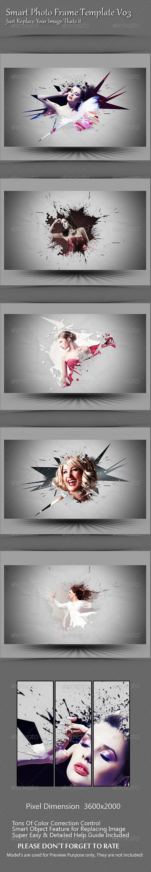 GraphicRiver Smart Photo Frame Template V03 8429425