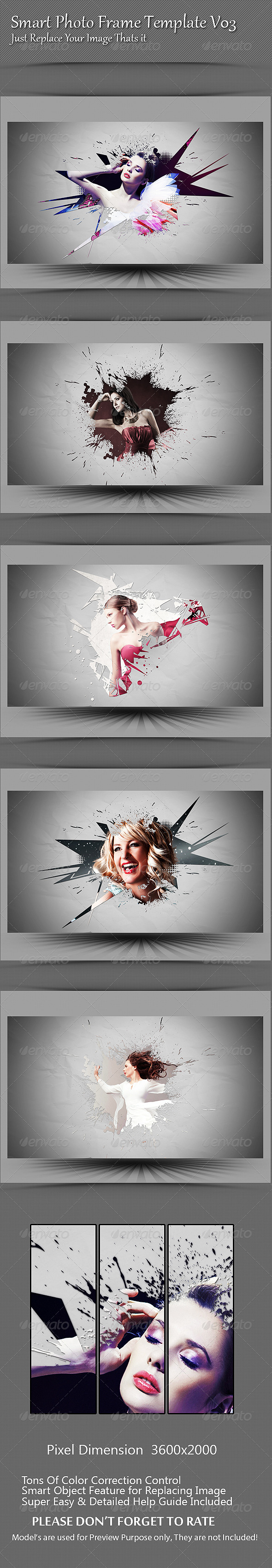Smart Photo Frame Template V03