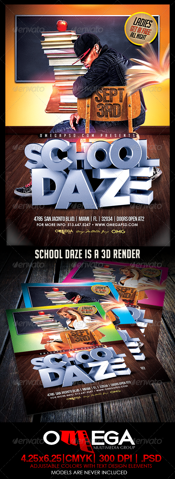 GraphicRiver School Daze 8429459