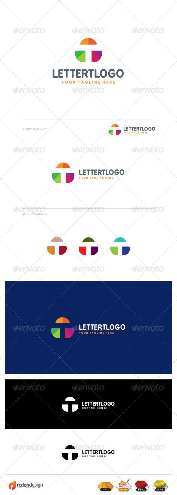 GraphicRiver T Letter Logo 8429610