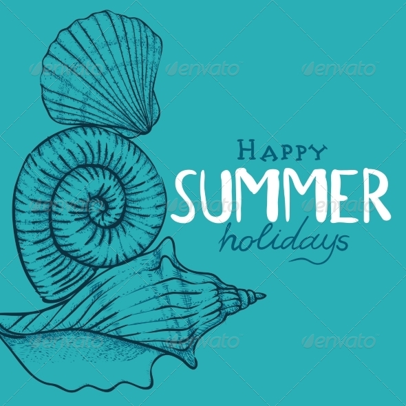 GraphicRiver Summer Holidays Background 8429612