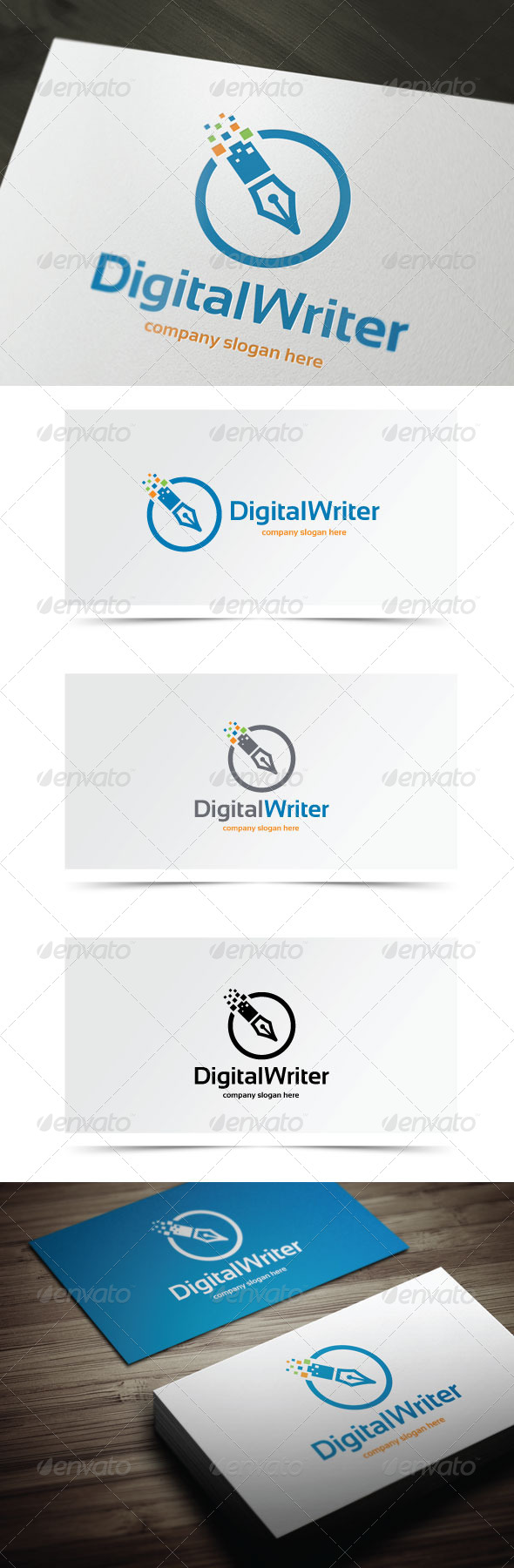 GraphicRiver Digital Writer 8429626