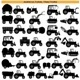 Agricultural Tractor Pictograms - GraphicRiver Item for Sale