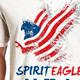 Spirit Eagle T Shirt Graphic - GraphicRiver Item for Sale