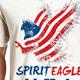 Spirit Eagle T Shirt Graphic - GraphicRiver Item for Sale