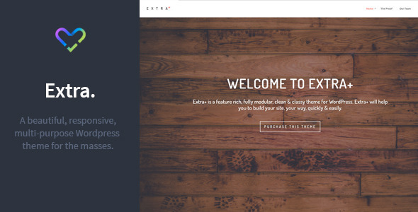 Extra - Multipurpose Responsive Wordpress Theme - Portfolio Creative