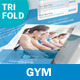 Wellness Gym Trifold Brochure - GraphicRiver Item for Sale