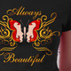 Butterfly Beautiful T Shirt Graphic