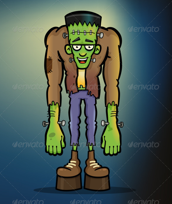 GraphicRiver Frankenstein Monster 8430322