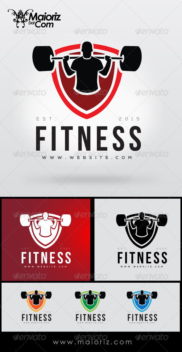 GraphicRiver Fitness Logo Template 8428055