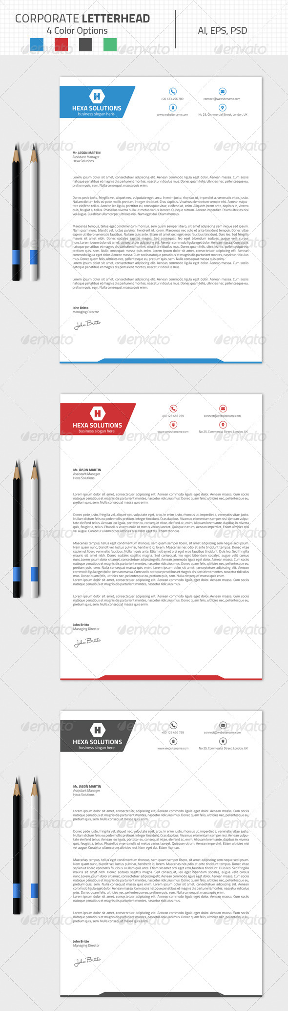 GraphicRiver Corporate Letterhead 03 8430606