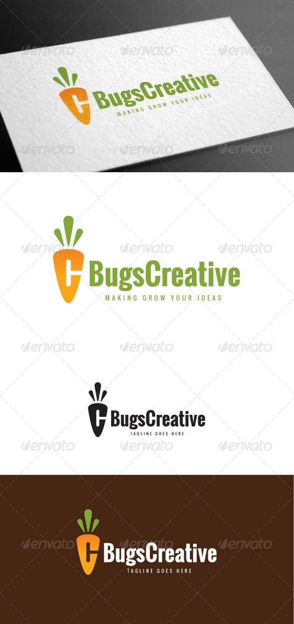 GraphicRiver Bugs Creative Letter C Logo Template 8426970