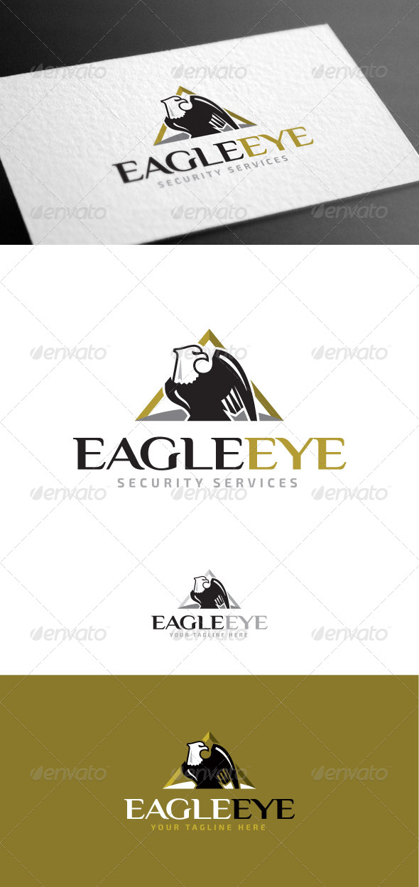 Eagle Eye Logo Template