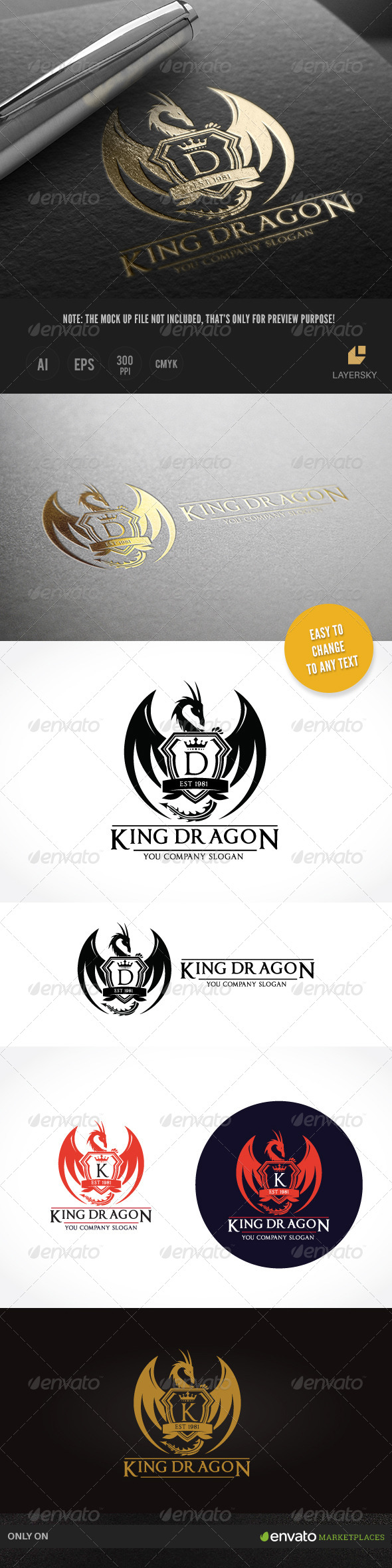 GraphicRiver King Dragon II 8430658