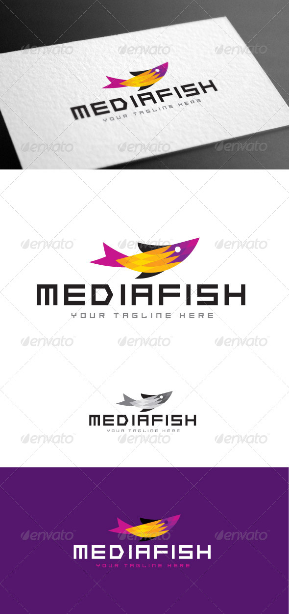 GraphicRiver Mediafish Logo Template 8427001