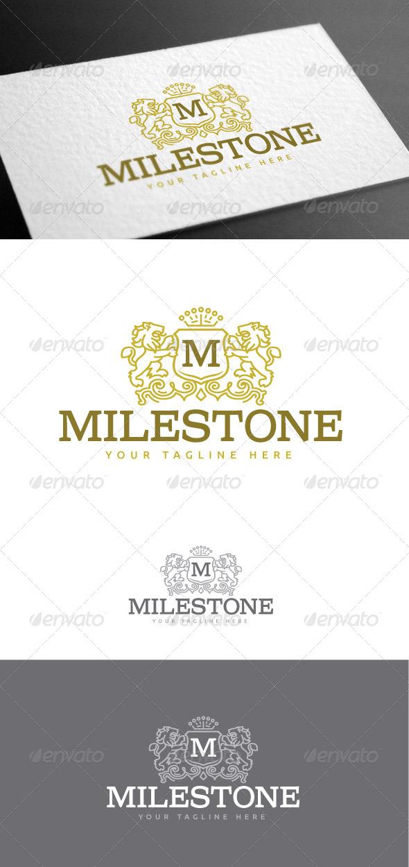 GraphicRiver Milestone Logo Template 8427002