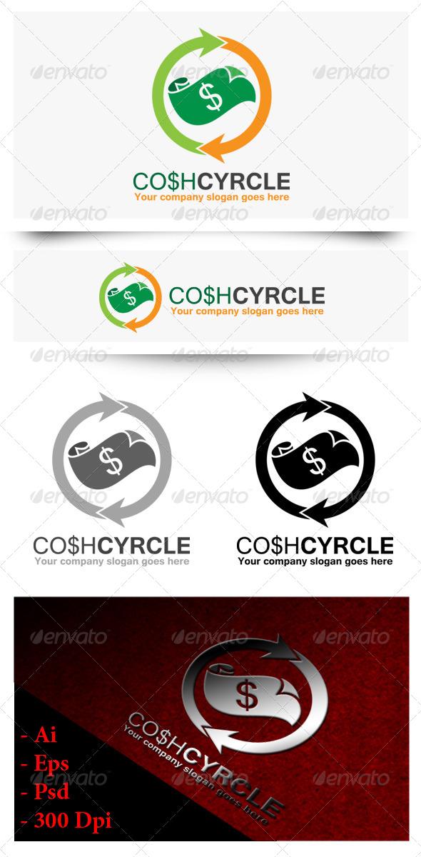 GraphicRiver Cosh Circle Logo 8430667