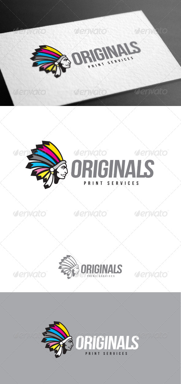GraphicRiver Originals Logo Template 8427088