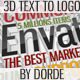 Multipurpose Clean 3D Text to Logo - VideoHive Item for Sale
