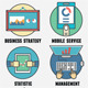 Business Management and Analytics Icons - GraphicRiver Item for Sale