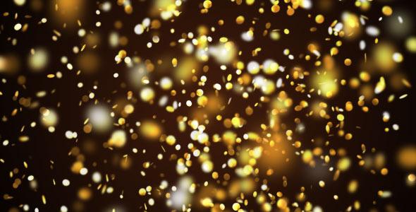 Gold Confetti Pack