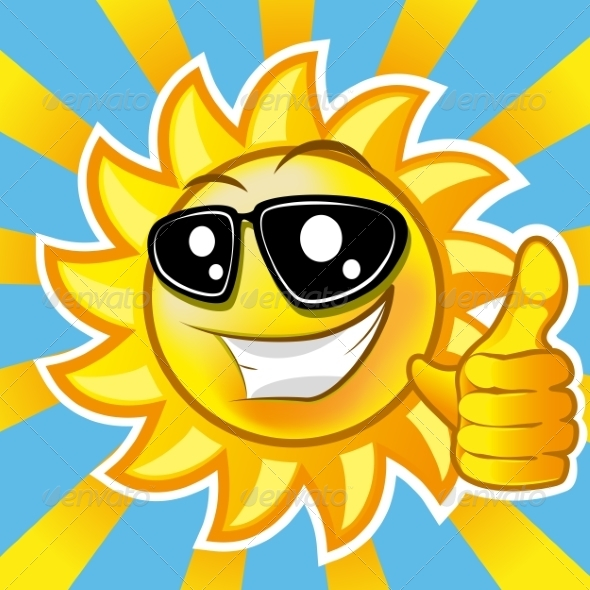 GraphicRiver Smiling Sun 8431032