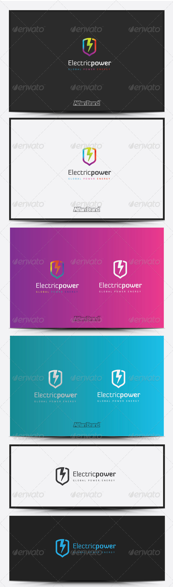 GraphicRiver Electric Power Logo 8431044