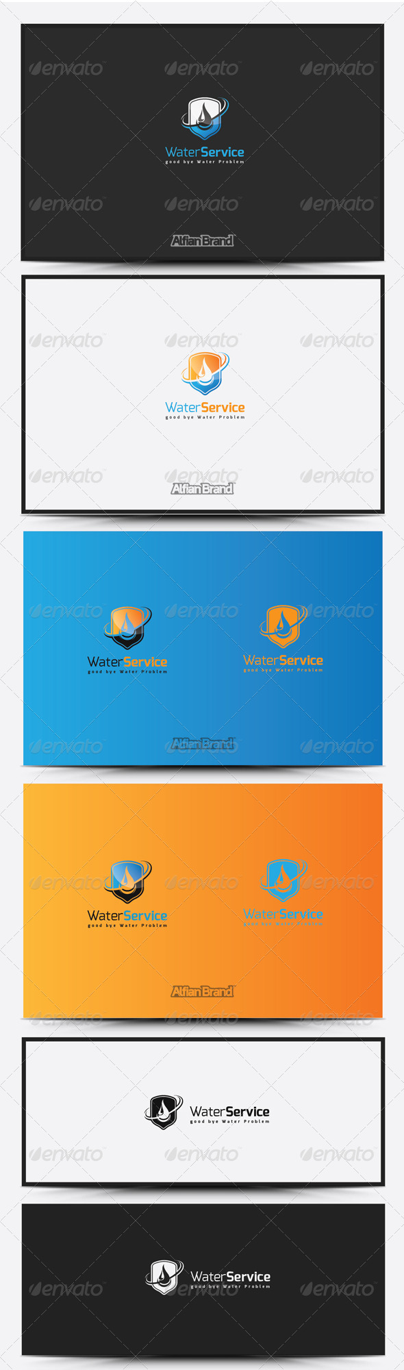 GraphicRiver Water Logo 8431075