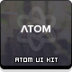 Atom - UI Kit - GraphicRiver Item for Sale